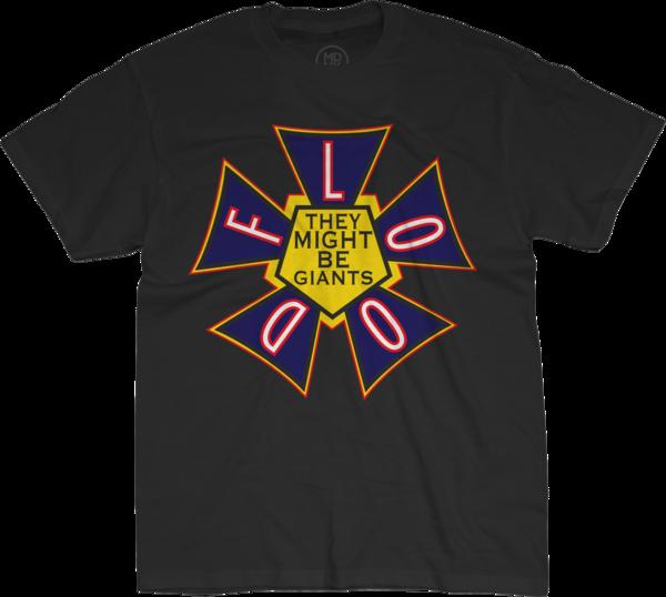 Flood black t-Shirt