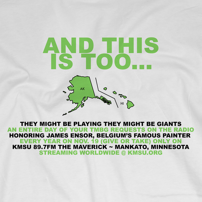 They Might Be Giants Tmbg Country On White T Shirt Men S