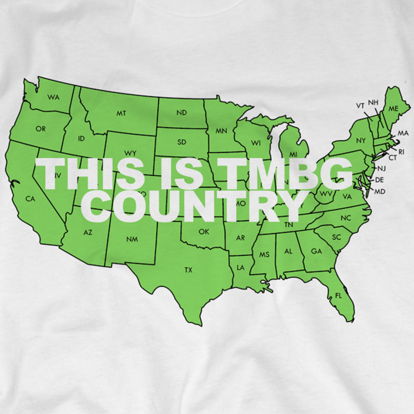 TMBG Country on White T-Shirt (Women's)