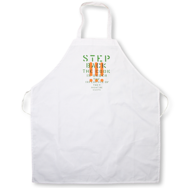The Step Back Apron