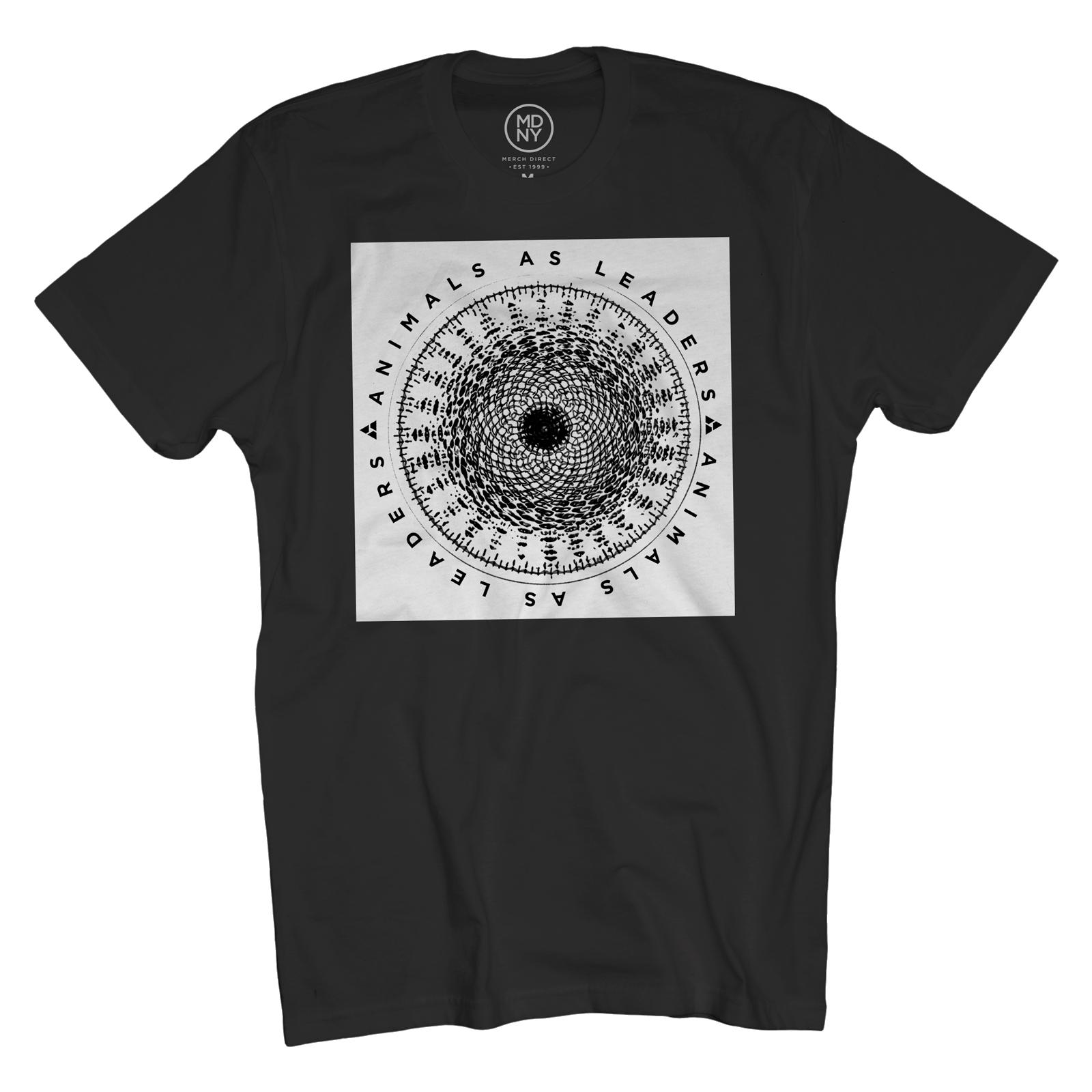 Spiro Text on Black T-Shirt