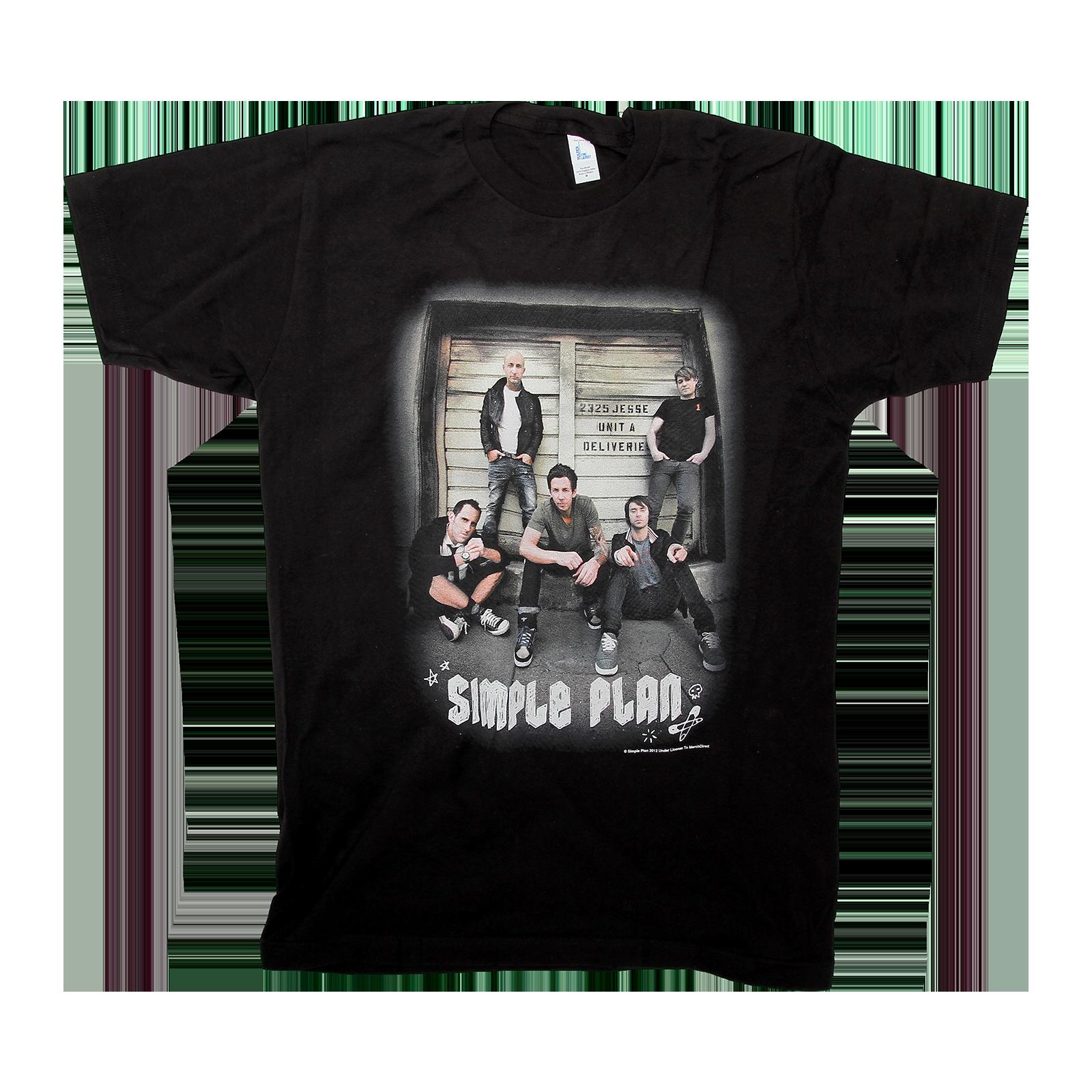 Door Black T-Shirt