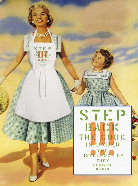 The Step Back Apron