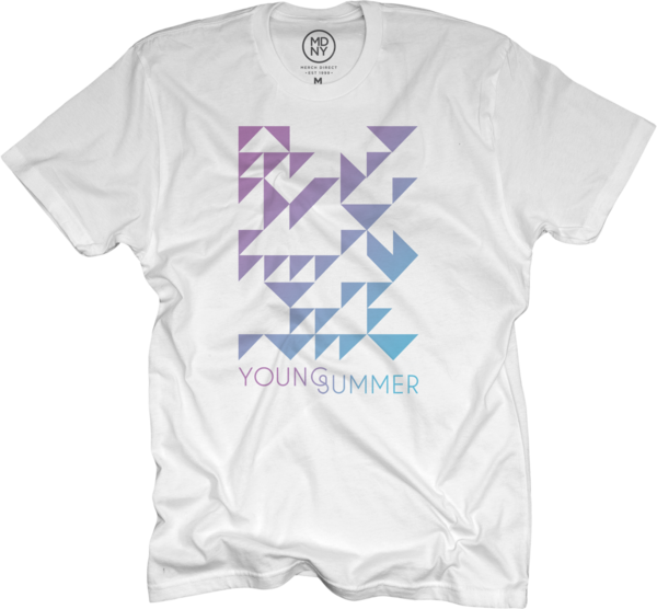 White Unisex Young Summer Tee