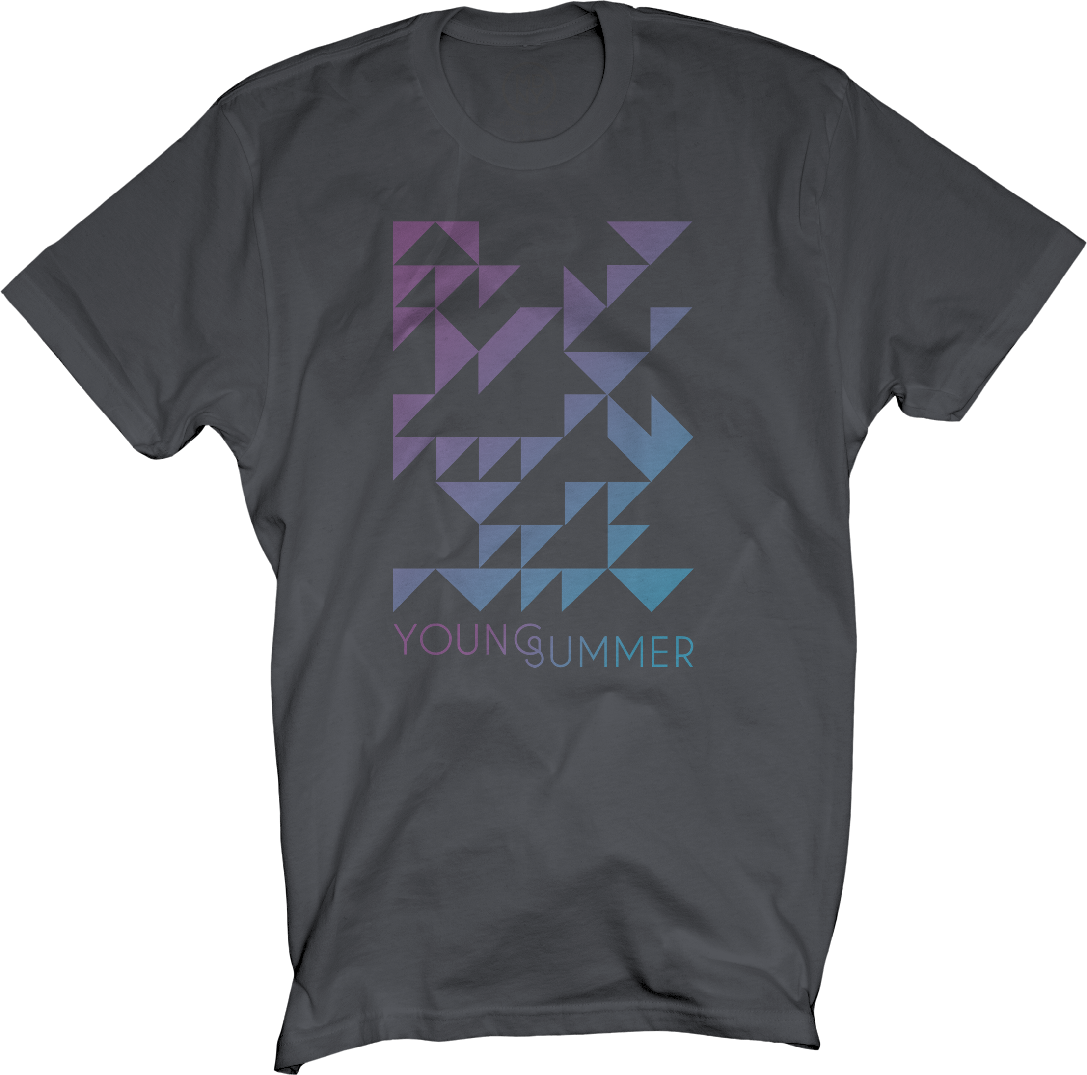 Charcoal Unisex Young Summer Tee