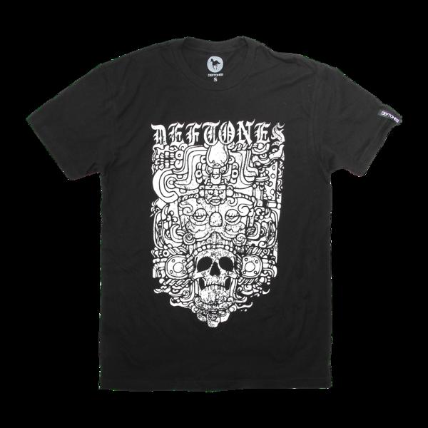 Ancient Skull Black T-Shirt