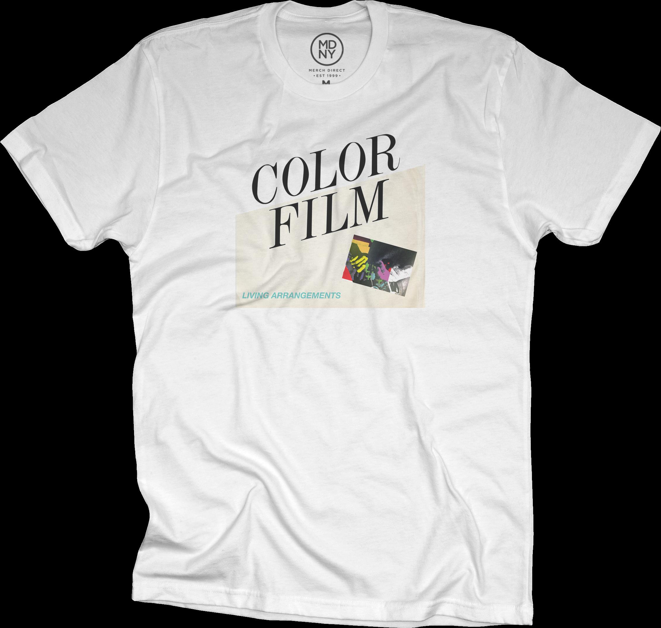 Living Arrangements Album Cover T-Shirt