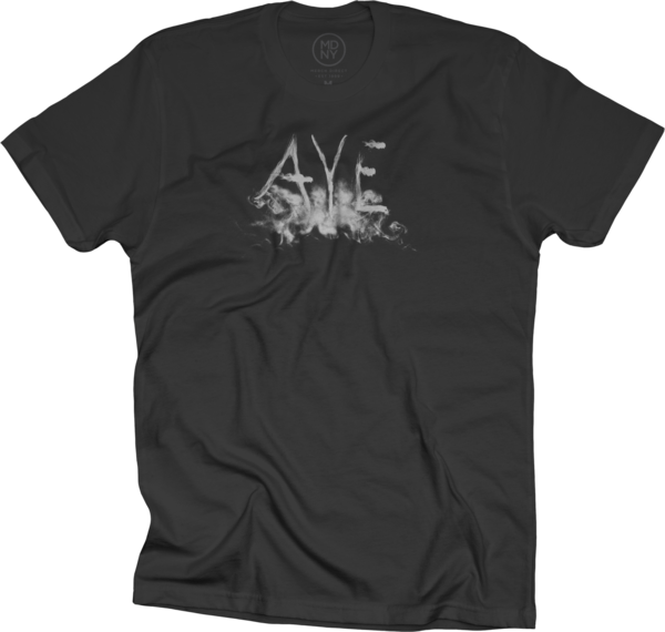 Aye Smoke Black T-Shirt