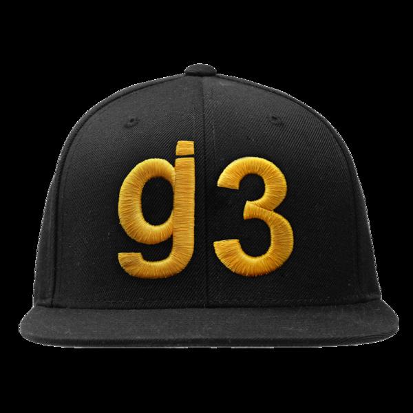 KKBB g3 black gold snapback