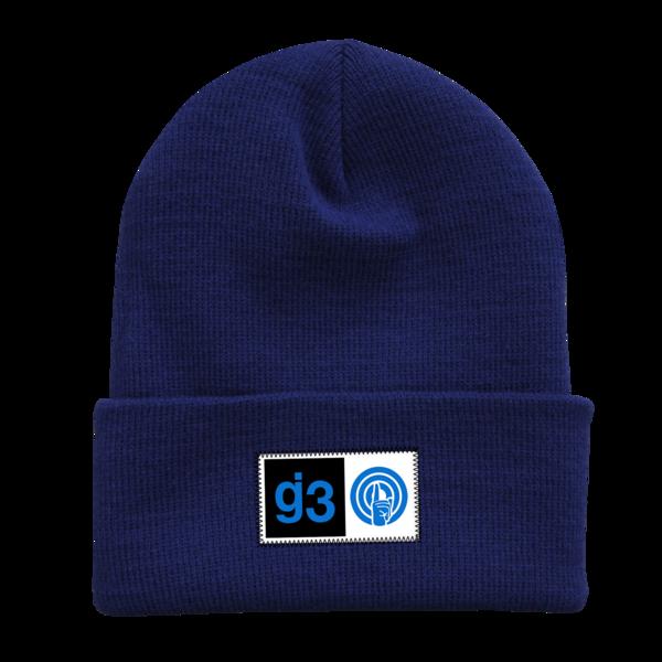 EYEWTKAS G3 Blue Beanie