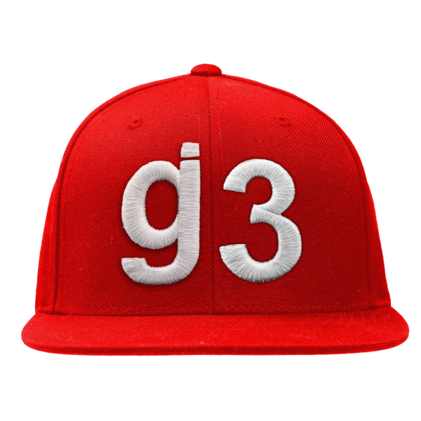 G3 Red Snapback