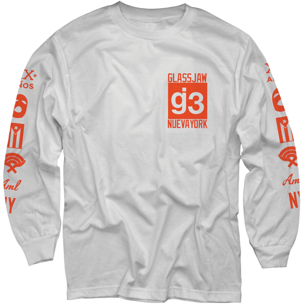 WXT Mas Logos White Long Sleeve