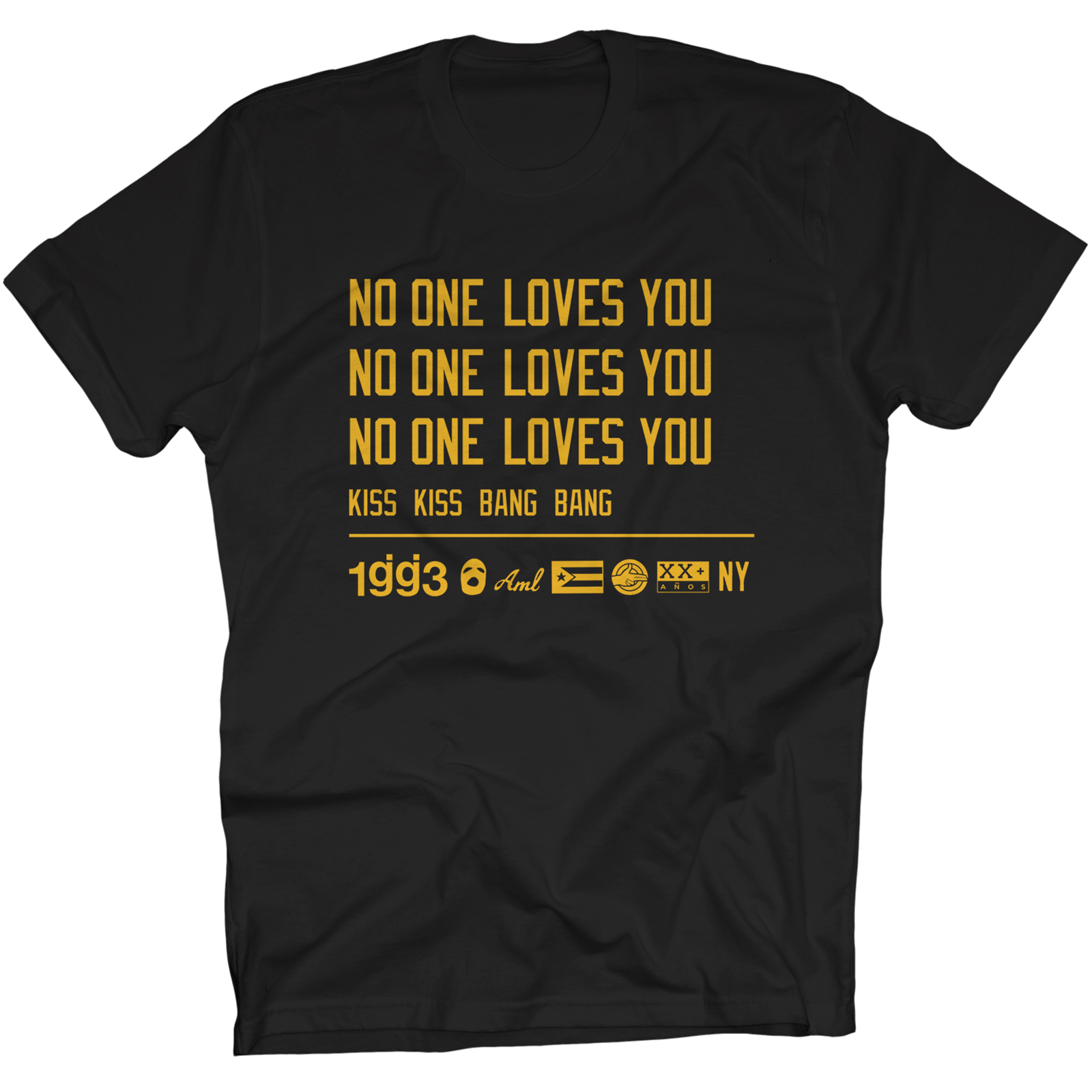 KKBB No One Loves You Black T-Shirt