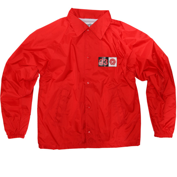 CB Red Coaches Jacket