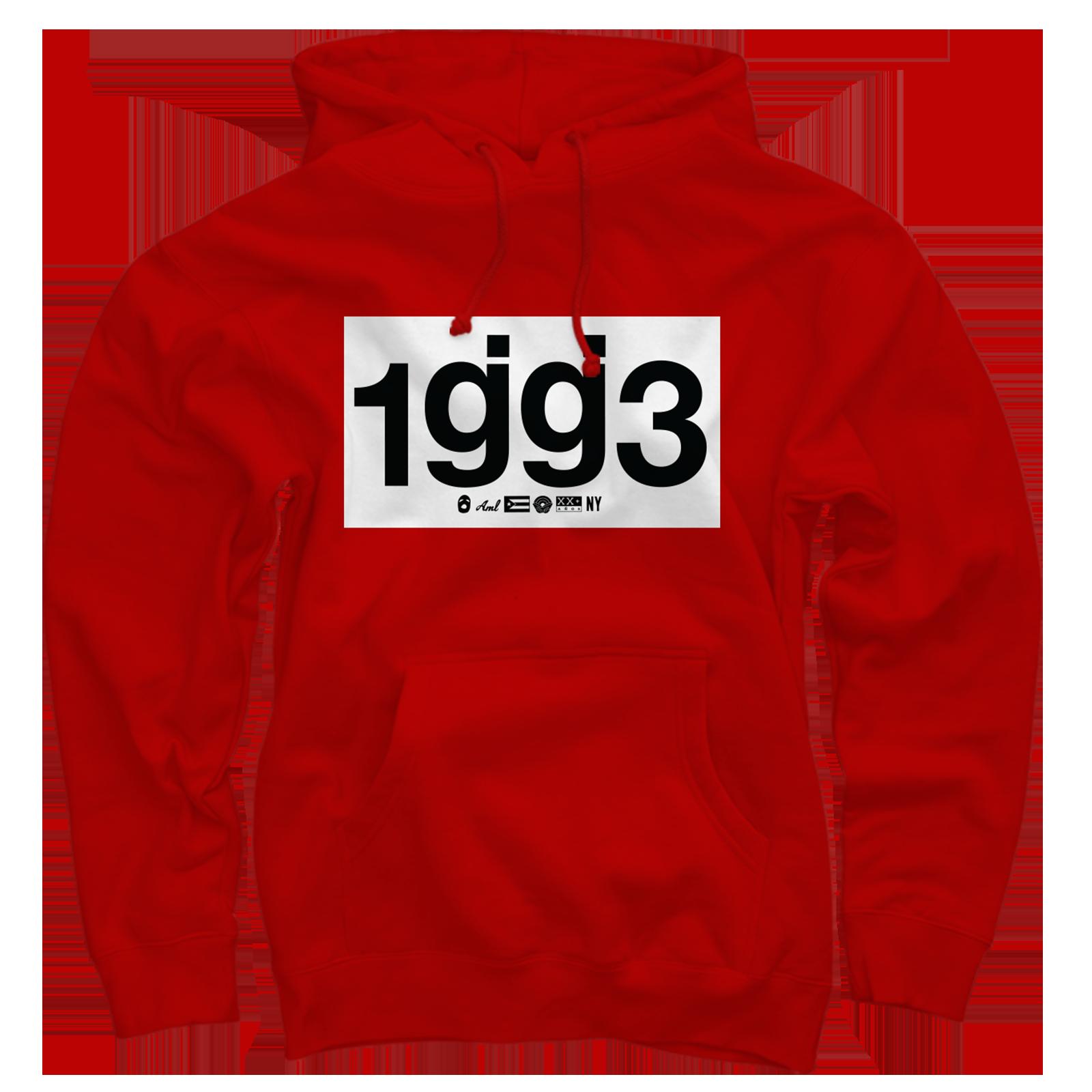 CB 1gg3 Red Pullover Sweatshirt