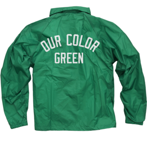 OCG Green Coaches Jacket
