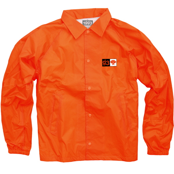 WXT Orange Coaches Jacket