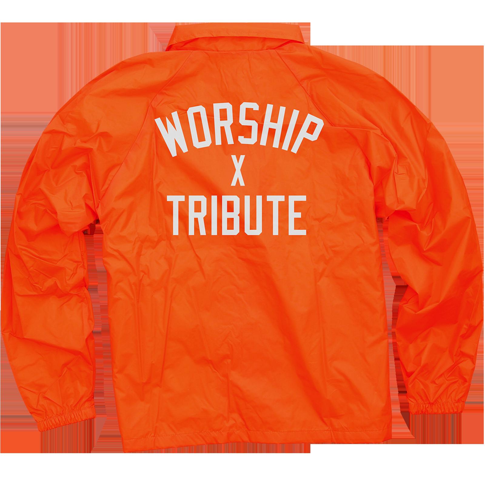 WXT Orange Coaches Jacket