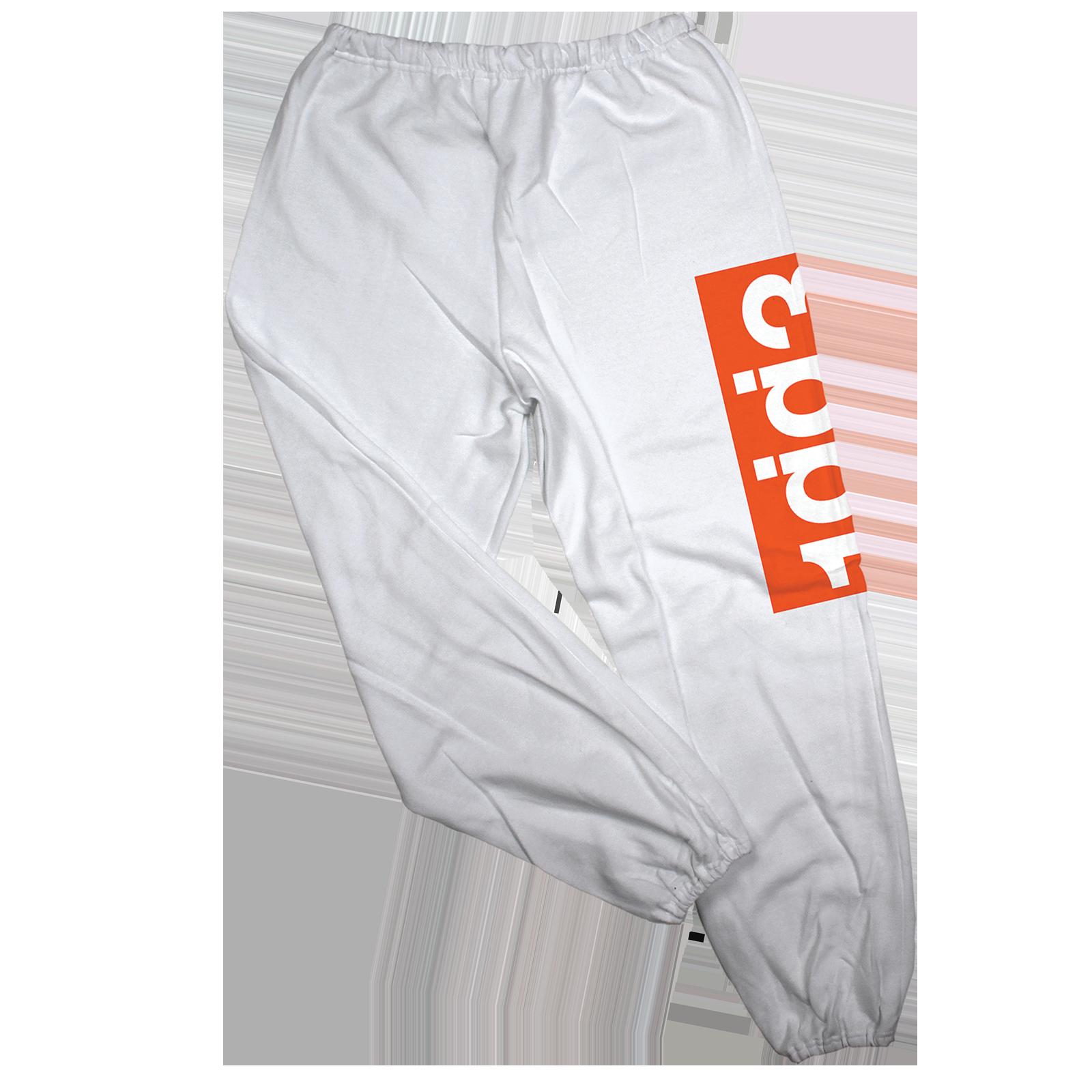 WXT 1gg3 White Sweatpants
