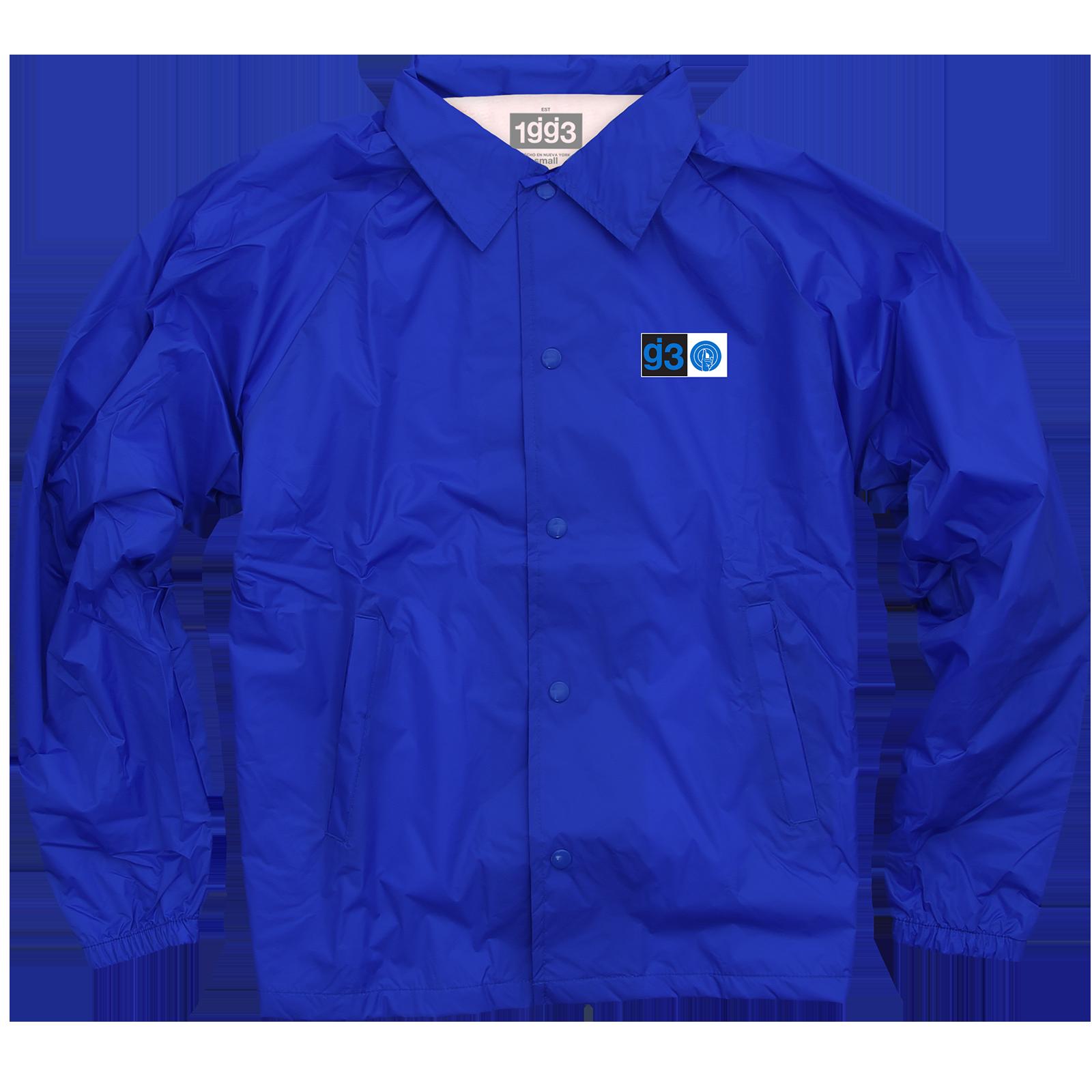 eyewtkas blue coaches jacket glassjaw