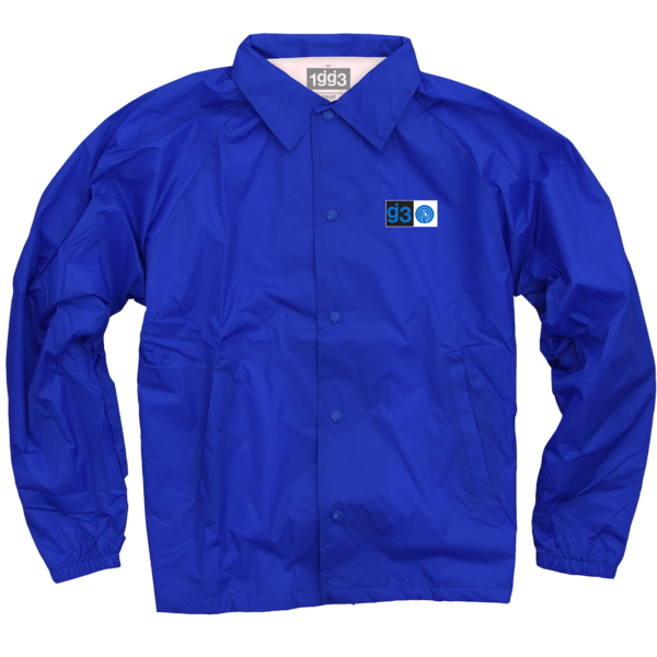 EYEWTKAS Blue Coaches Jacket