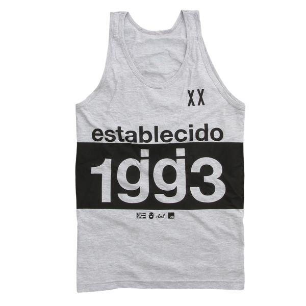 Established Heather Grey Tank Top