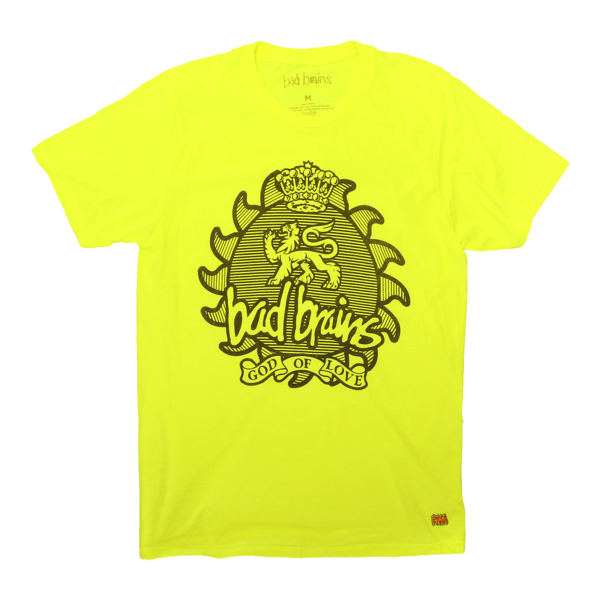 God of Love Neon Yellow T-Shirt