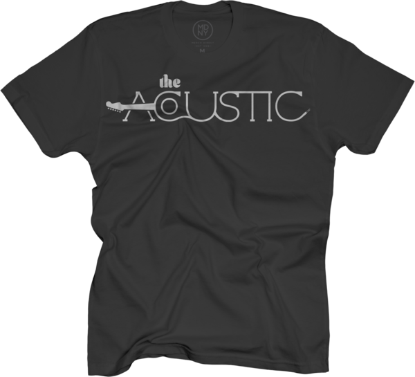The Acoustic logo tee