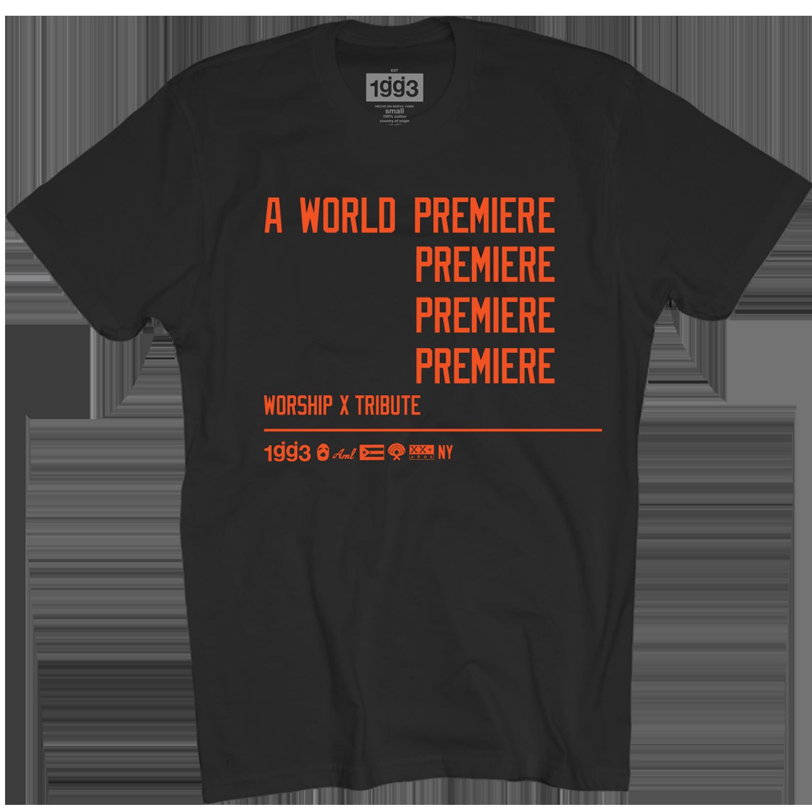 WXT World Premiere Black T-Shirt