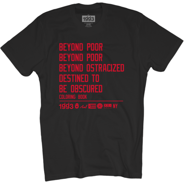 CB Beyond Poor Black T-Shirt