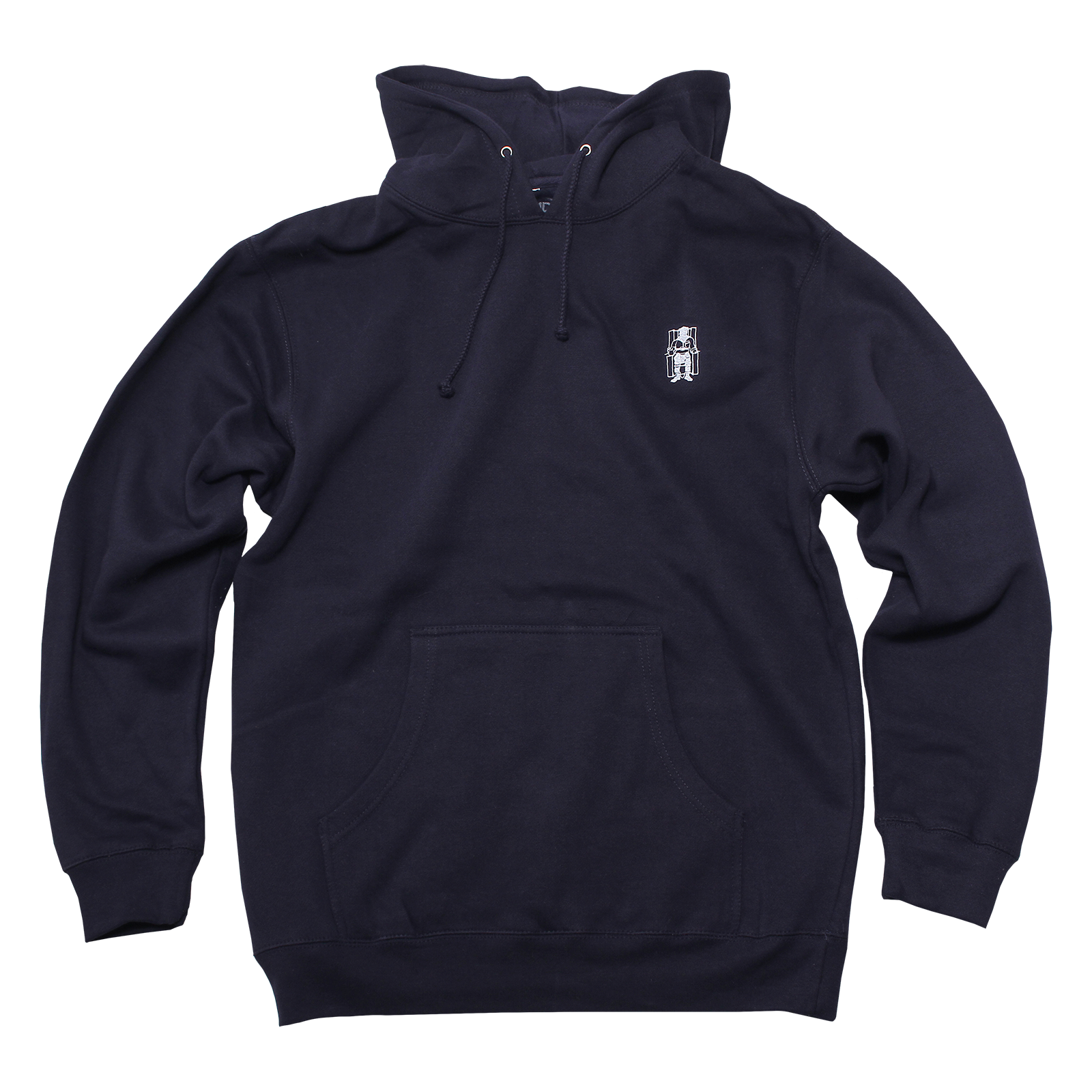 1b0b45489 Embroidered Navy Pullover - Death Row Records