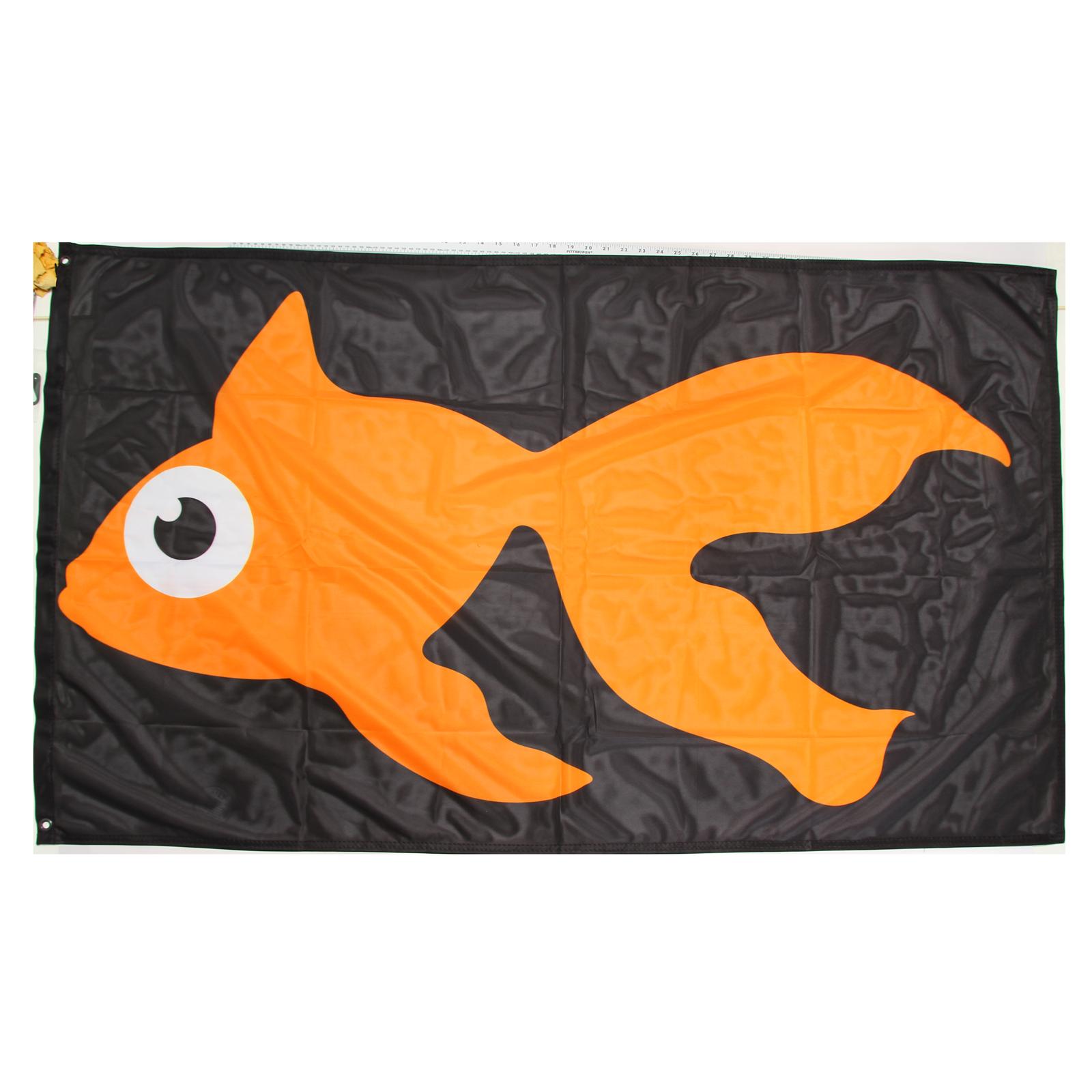 GoldFish 3' x 5' Flag