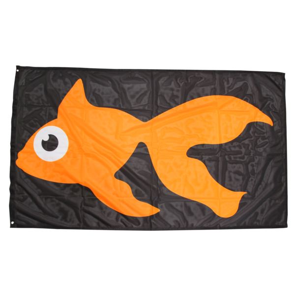 GoldFish 3' x 5' Flag