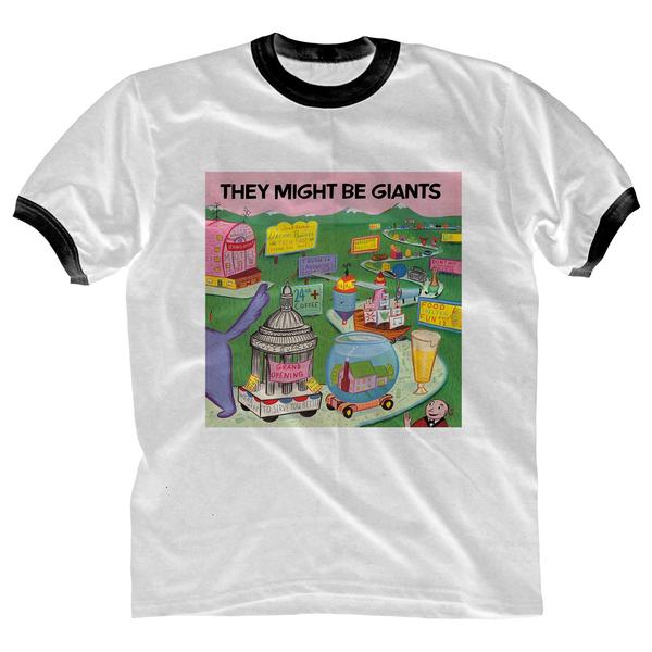 First Album Ringer T-Shirt