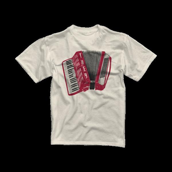 Air Accordion on Natural T-Shirt (Youth)