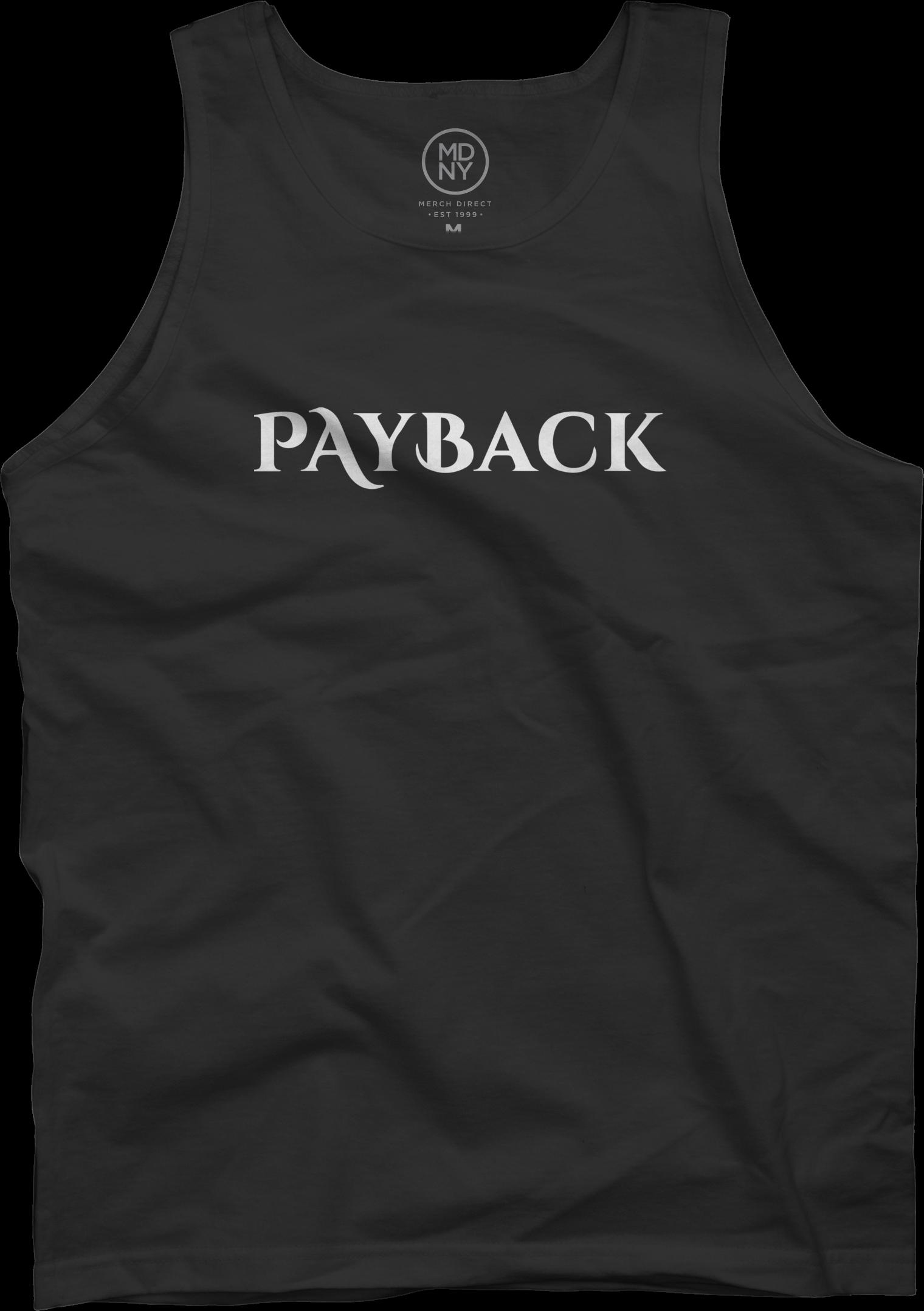 Payback Black Tank Top