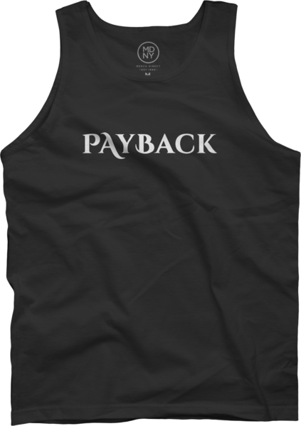 Payback Black Tank Top