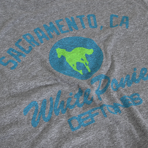 White Ponies Varsity T-Shirt