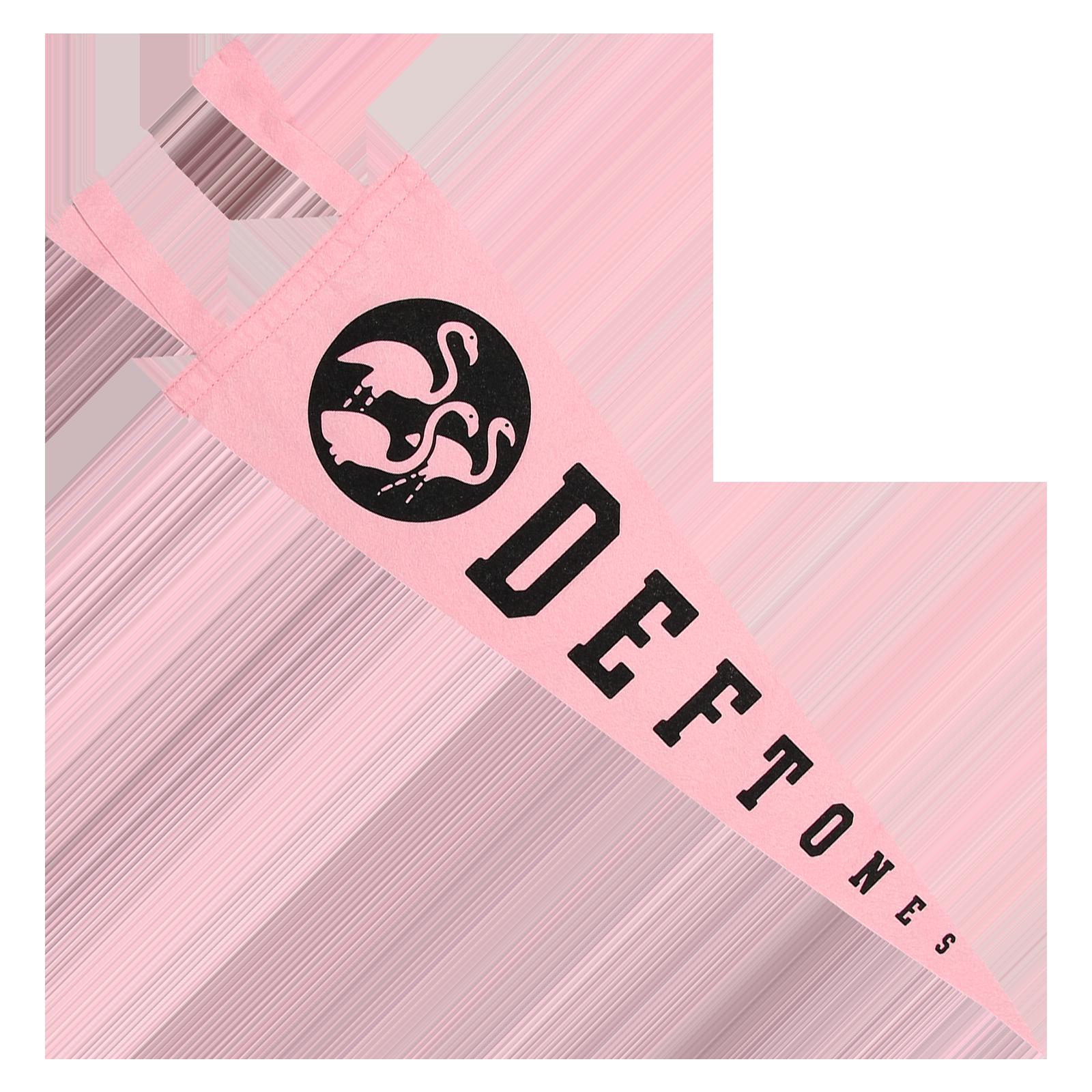 Pink Pennant Flag