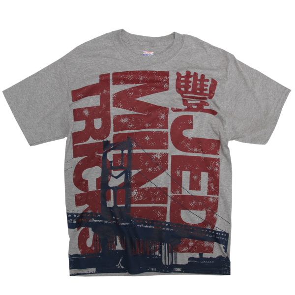 Navy Bridge Heather T-Shirt