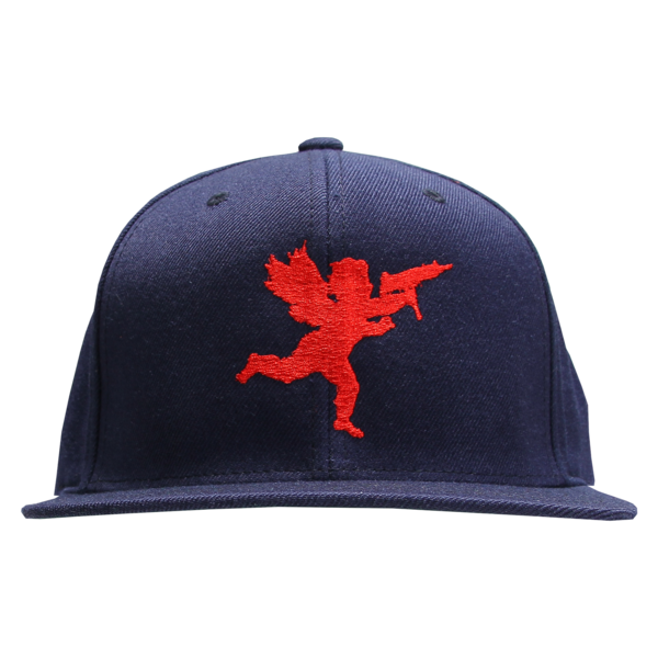 Cupid on Navy Snapback