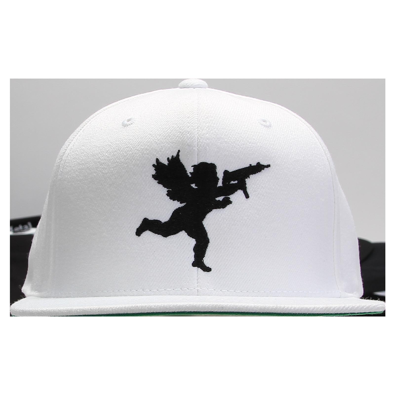 Vanilla Ice - Cupid Black on White Snapback d5f09bd7168