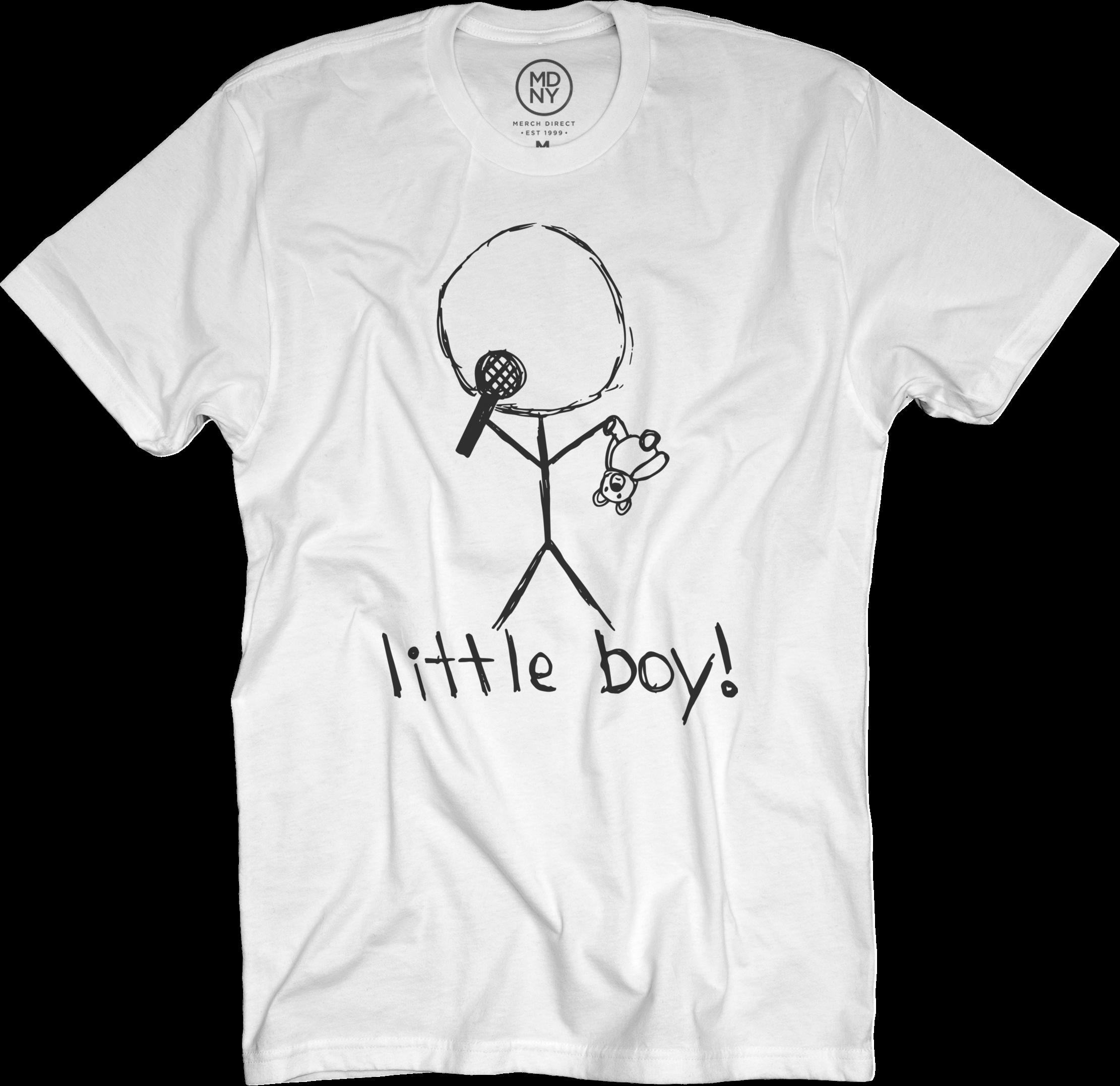 Little Boy White T-Shirt