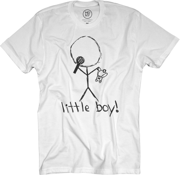 Little Boy White T-Shirt