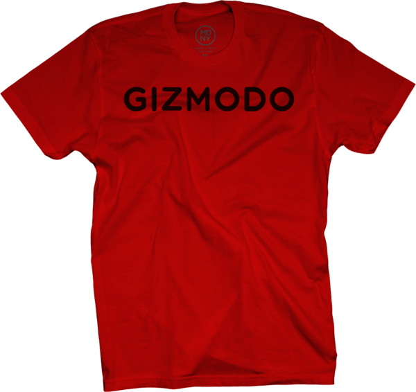 Gizmodo on Red T-Shirt