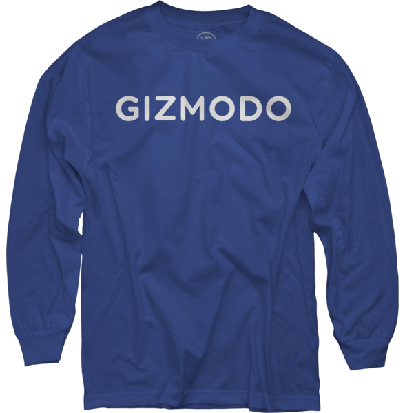 Gizmodo on Royal Blue Long Sleeve