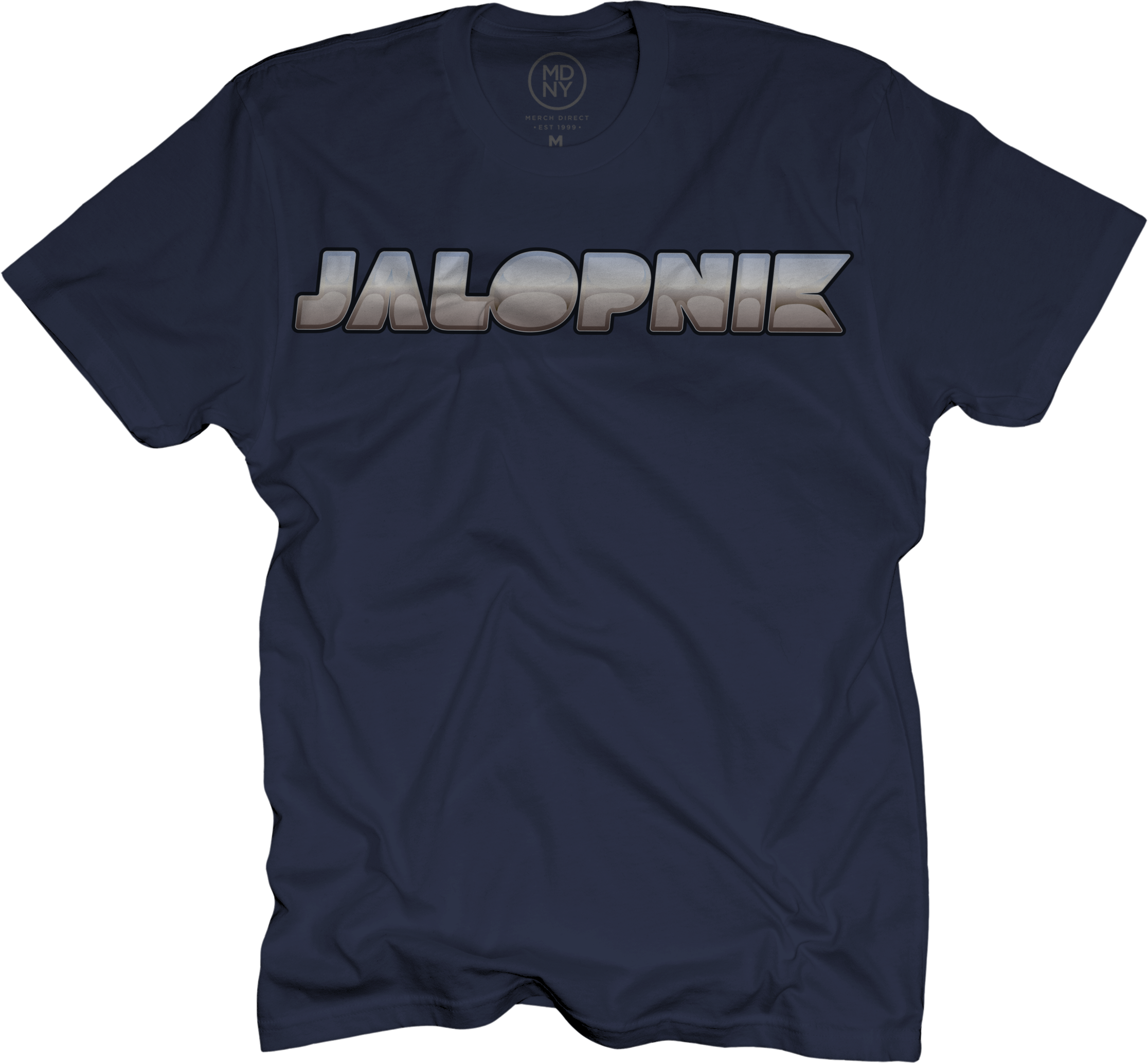 Jalopnik Vintage Logo Navy T-Shirt