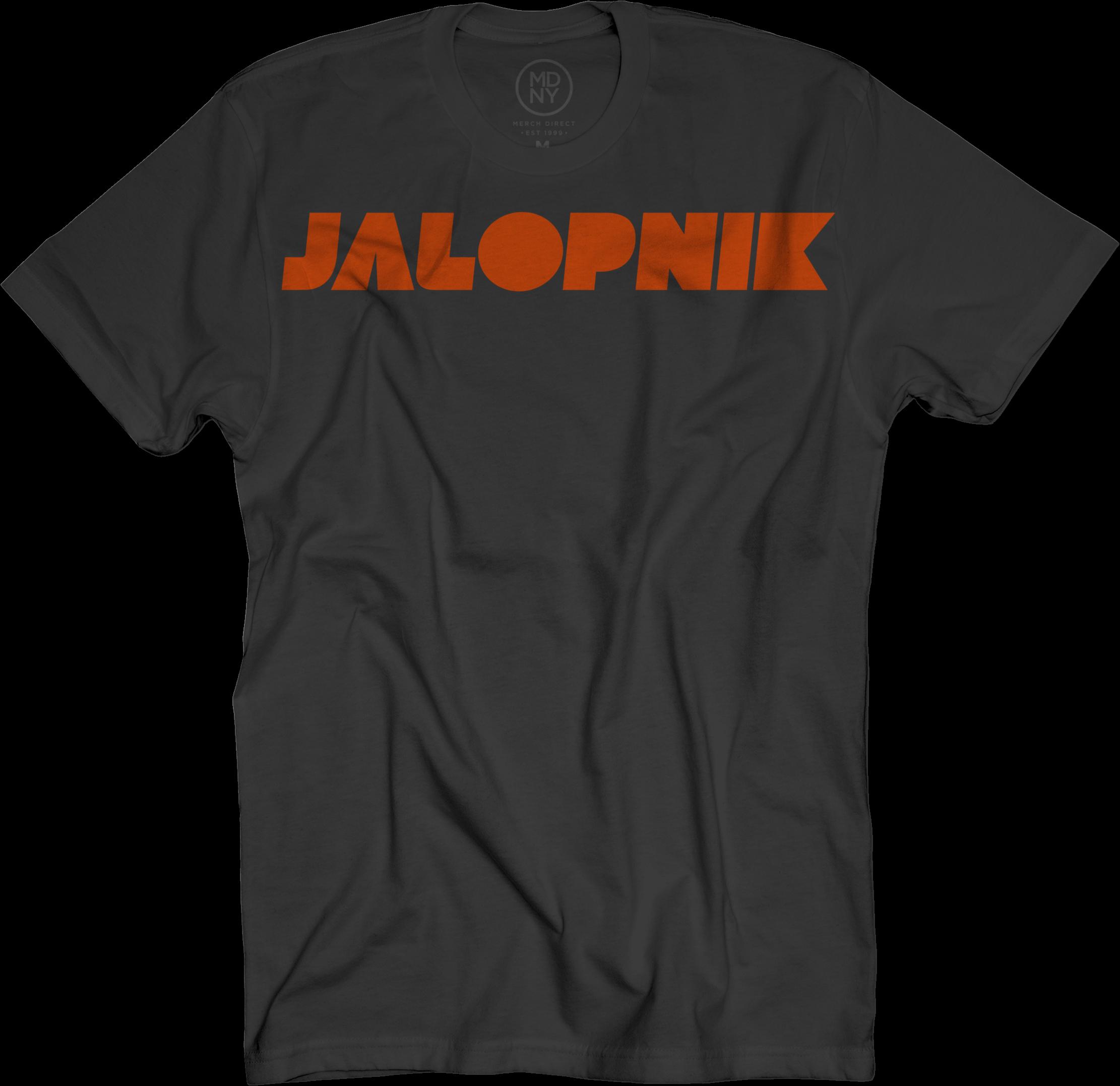 Jalopnik Logo Black T-Shirt