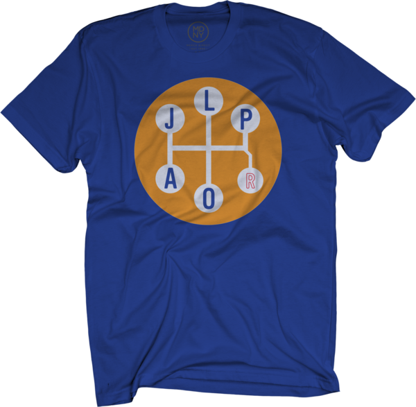 Gear Shift Royal Blue T-Shirt