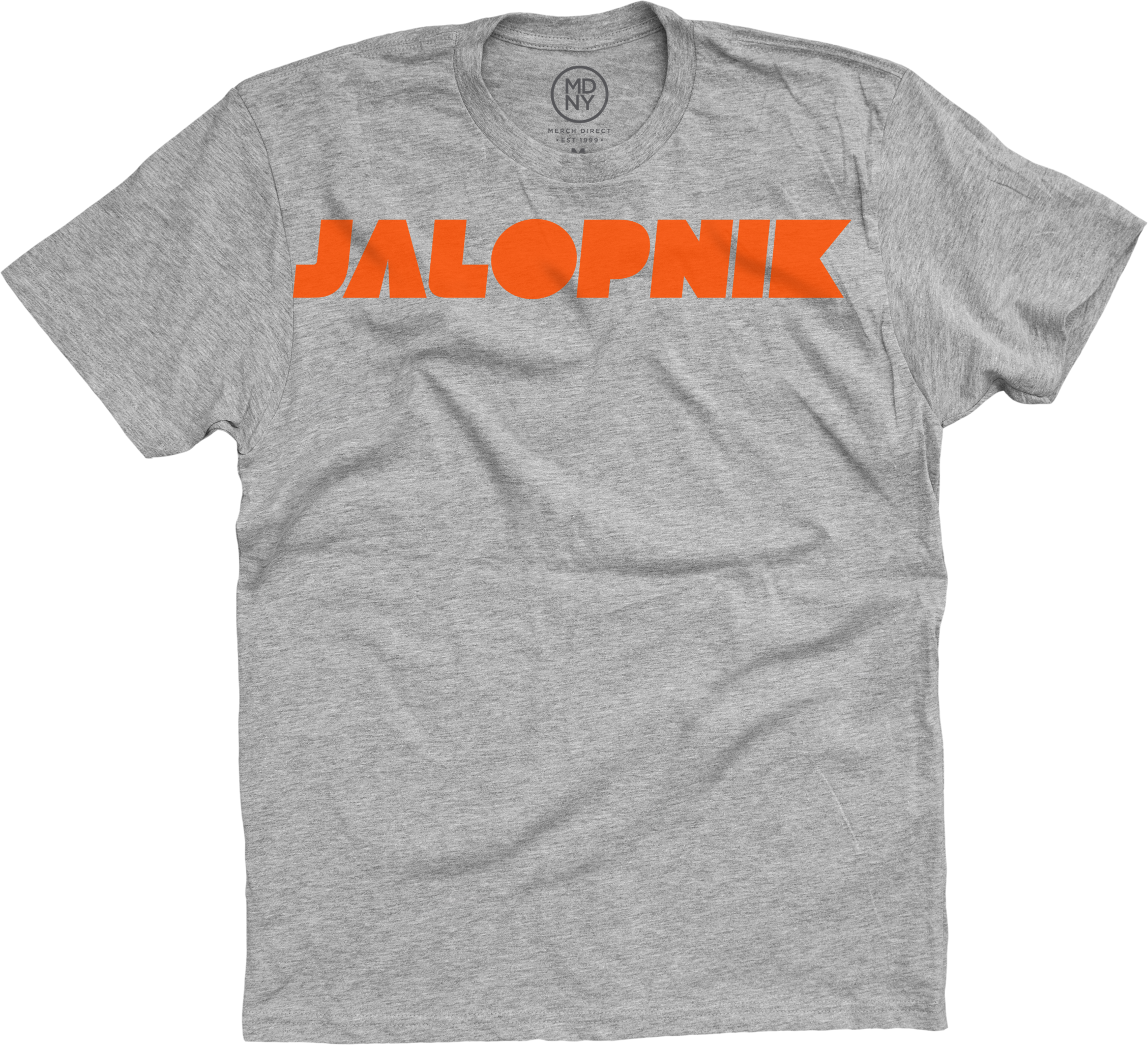 Jalopnik Logo Heather Grey T-Shirt